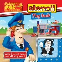 Postman Pat Stencil Play Book (Postman Pat Special Delivery S... Board book Book
