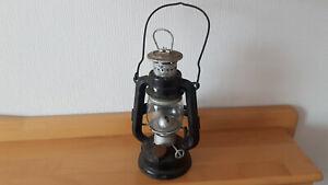 Pertoleumlampe Feuerhand N 175 Super Baby, Original Jena Glas, Fahrrad Halterung