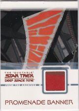 STAR TREK QUOTABLE DEEP SPACE NINE DS9 C20 PROMENADE BANNER COSTUME RELIC CARD