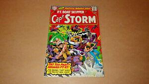 Capt. Storm P.T. Boat Skipper 12 DC Comics No. 12 March - April 1966  VF 8.0