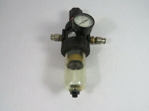 Parker 0430090143 Air Filter Regulator w/Gauge In. 150PSI Out. 30PSI ! WOW !