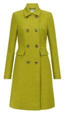 Ladies Hobbs Jasmin Green Pure Wool Military Winter Coat 8 36