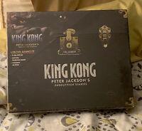 King Kong: Peter Jacksons Production Diaries 2005 Collectible DVD Set! Rare
