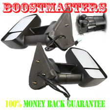 for Chevy 03-06 Silverado 1500 2500 Pair Black Side View Mirrors Power Heated