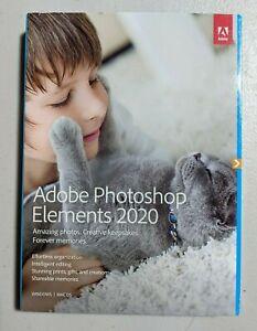 Adobe Photoshop Elements 2020 PC/MAC DVD Disc