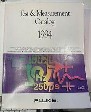 Fluke 1994 Test + Measurement Catalog