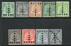 TUNISIA 1888-1901 Postage Due Mint and Used Issues Selection (Sep 103)