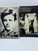 Aurthur Rimbaud 2 Book Lot; A Season In Hell 8th  & Illuminations 11th Printing