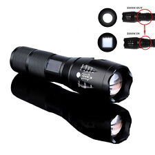 X800 Bright Tactical Flashlight T6 LED Military Zoomable Torch Lamp Light G700