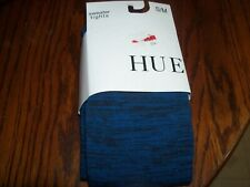 Hue Sweater Tights Sweater Blue and Black S/M Brand New NWT