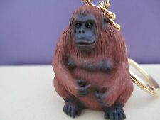 ORANGUTAN    ~ KEY CHAIN ~ GREAT GIFT ITEM