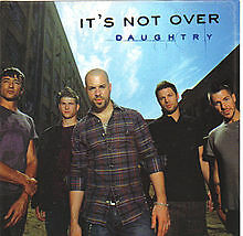 Daughtry – It's Not Over – CD Single