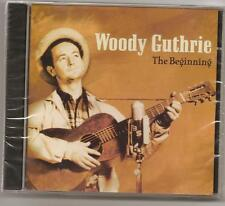 """WOODY GUTHRIE, CD """"THE BEGINNING"""" NEW SEALED"""