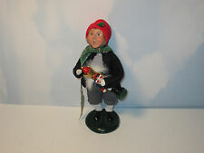 Byers Choice 2003 Magnificent Boy with Nutcracker