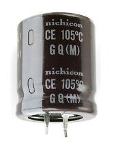 2pcs Nichicon GQ 1500uF 80v 105c Radial Electrolytic Capacitor
