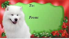 Samoyed Christmas Labels by Starprint