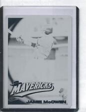 2010 Topps Pro Debut Jamie McOwen Black Printing Plate...Only one in World 1/1