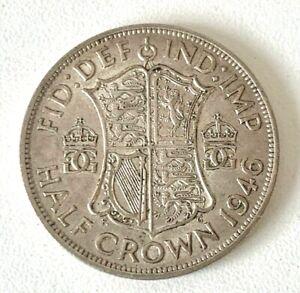 1946 HALF CROWN COIN
