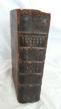 New Theory Earth + Astronomical Principles Religion by William Whiston - 1725!