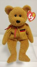 Germania the Bear - TY Beanie Baby - German Exclusive Stuffed Toy - Vintage MWMT
