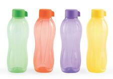 Tupperware Aquasafe 1 Ltr. /1000 ML Water Bottles (2 Pcs) - New Colours