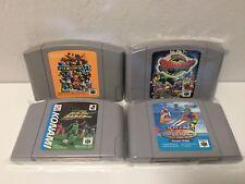 Pack 4 Juegos de Nintendo 64 - Mario Party 3, Wave Race.. (N64) Japan Import