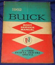 RF1646 1962 Buick LeSabre Invicta Electra Shop Manual