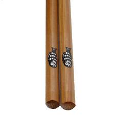 1 pair  Cute Fish Pattern Asian Bamboo Chopsticks Set
