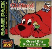 Scholastic / Wendy's - Clifford the Big Red Dog: Great Big Puzzle Game Pack DVD