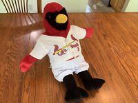 Build A Bear Workshop BABW St. Louis Cardinals Large Plush Cardinal w/ Jersey