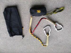 Kong Via Ferrata kit Lanyard (Italian mountaineering brand)
