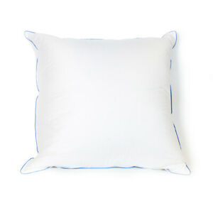 Hotel Standard White Bed Feather Pillows Goose Down Pillow King Size Down Proof