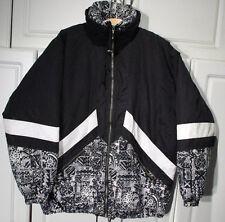 """""""Fera Skiwear"""" Winter Parka Jacket Coat Women's size 12 Black & White"""