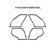 Door Seals Weatherstrip OUTER DOOR Seal Gaskets for BMW E30 3 SERIES 1983-1991