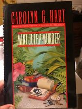 Mint Julep Murder by Carolyn G. Hart  SIGNED By Author First Edition $Drop