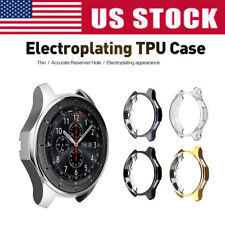 Electroplated TPU Watch Case Frame Cover for Samsung Gear S3 / Galaxy Watch 46mm