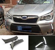For Subaru Forester 13-20 LED White Car Front Daytime Running Light DRL Lamp