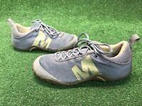 Merrell Sprint Streak Ventilator Women's Trail Shoes Slate Gray Blue Yellow 7.5