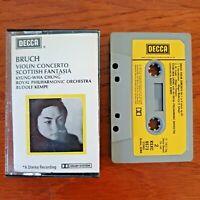 Kyung Wha Chung - Bruch Violin Concerto Scottish Fantasia Decca Cassette Tape