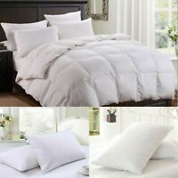 Luxury Goose/Duck Feather and Down Duvet,Quilt All Sizes Available 10.5 13.5 TOG