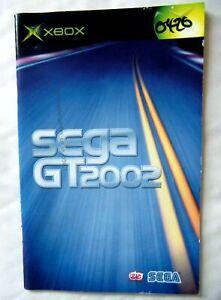 55901 Instruction Booklet - SEGA GT 2002 - Microsoft Xbox (2002)