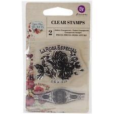 Cigar BOX SEGRETI #1 - Mini Timbri Clear-Prima Marketing #575847