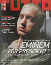TUTTO 1 2003 Eminem Alice Cooper Sugababes Dave Grohl Shaggy Radiohead Subsonica