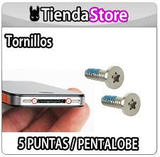 PACK X 2 TORNILLOS compatible IPHONE 4 / 4S PENTALOBE, 5 puntas pentalobular