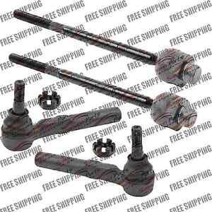 Front Steering Tie Rod End Power Steering Rack Steering For Chevy Silverado 1500