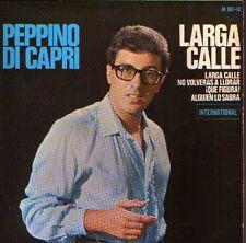 PEPPINO DE CAPRI & ROCKERS EP Spain 1965 La lunga strada +3