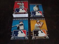 2010 Topps Baseball---Logoman HTA---Complete Set 1-50---NrMt