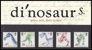 1991 GB Dinosaurs Royal Mail Presentation Pack No.220