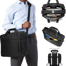 Unisex Professional Spacious Laptop Messenger bag for Women and Men 15.6 inch