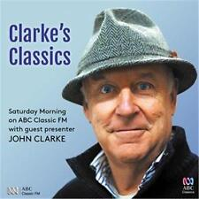 JOHN CLARKE CLARKE'S CLASSICS Saturday Morning on ABC Classic FM 3 CD NEW
